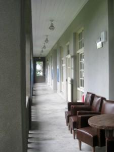 松園別館二樓一隅