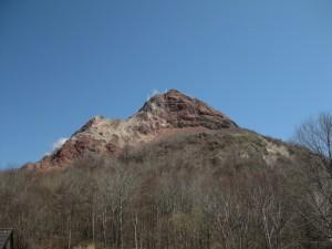 熊牧場對面的昭和新山