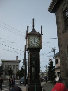 小樽音樂博物館外蒸氣鐘