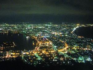 函館夜景照(曝光)