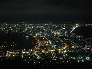 函館夜景照
